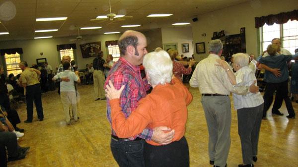 Bobby Boynton Dancing